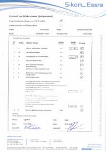 Prüfzertifkat IEC 61439 bezüglich der sicherheitstechnischen Anforderungen für Niederspannungs-Schaltanlagen